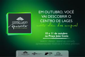 Flyer - Prévia do Evento Centro Lages Apresenta